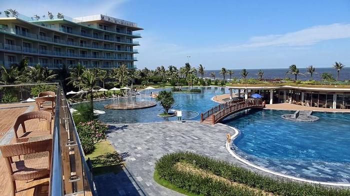 サムソンビーチにある5つ星ホテルです