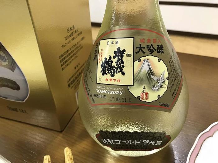 オバマ大統領が日本で飲んだ玉酒「賀茂鶴」