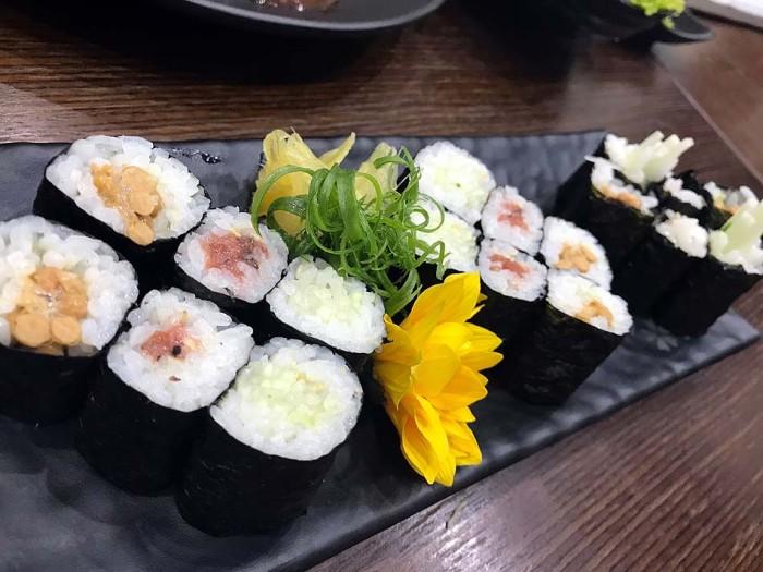 美味しい巻き寿司でした