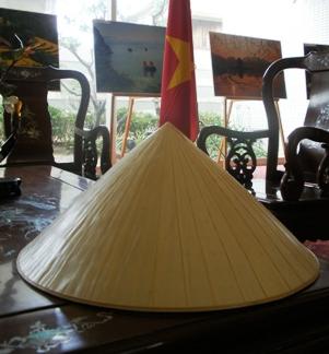 ベトナム領事館にあったノンラー