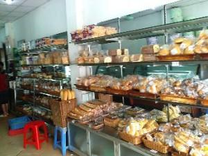 「Huong Lan」の店内