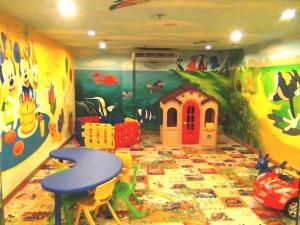 レストラン横にあるお子様の遊び場所