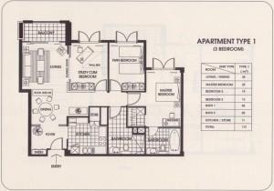 Sedona Suites 3LDK(113㎡)