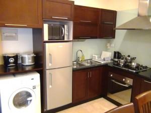 「標準装備」の多用さはやはりサービスアパートが優れています