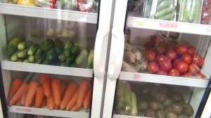 有機農法で作られた野菜
