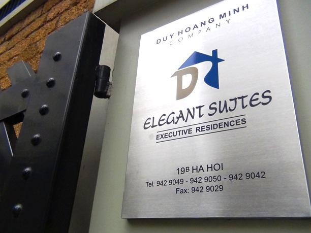 Elegant Suites入り口