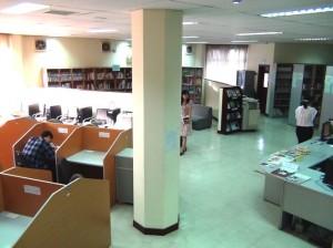 VJCCハノイ図書館の風景