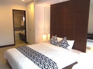 3ベッドルーム(124㎡)の主寝室