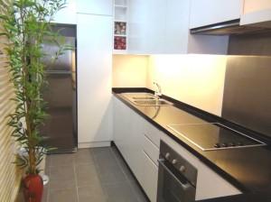 3ベッドルーム(124㎡)のキッチンスペース