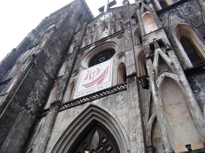 セントジェームス教会(ハノイ大教会)の全容
