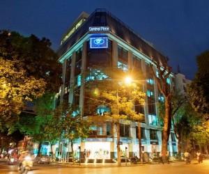 Ly Thai To通りにあるレンタルオフィス「Regus」の全容