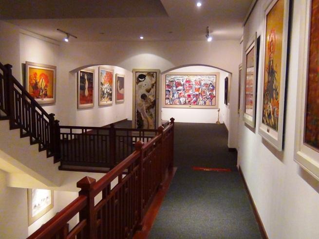 「Viet Fine Arts」画廊の中の風景7