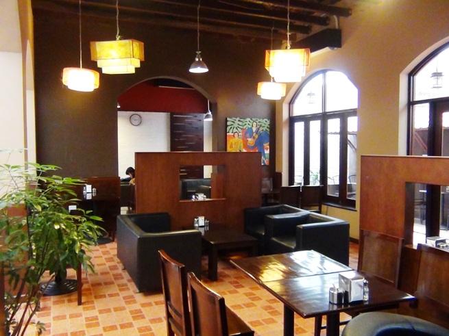 「Joma Bakery Cafe」の奥のリラックススペース