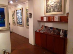 「Viet Fine Arts」画廊の中の風景4