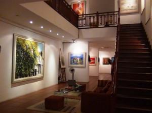 「Viet Fine Arts」画廊の中の風景2