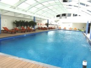 共用スペースのプール