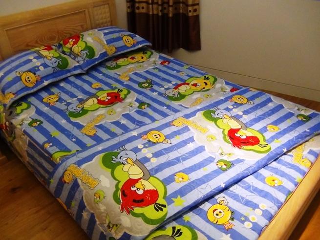 娘さんと息子さんのいるご家庭の子供用ベッド「娘さんがいると言ったのですが」