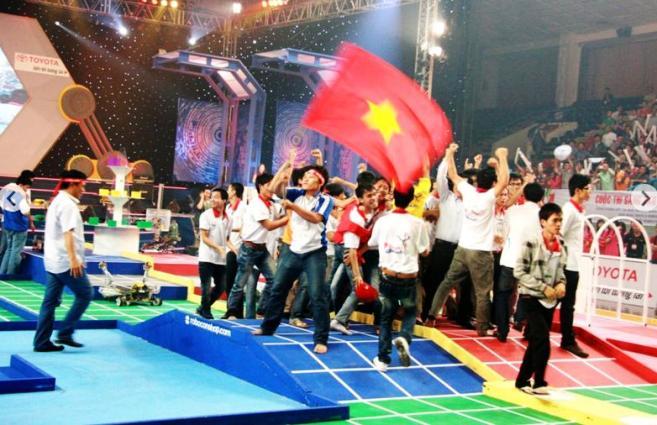 ABUアジア・太平洋ロボットコンテストでベトナムは3度の優勝を誇ります