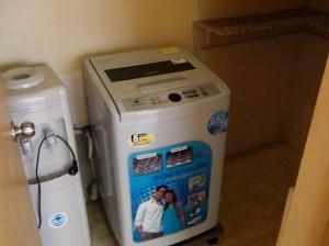 室内に必ず洗濯機とWaterサーバーが付きます「ウォークインクローゼットスペースもあります」