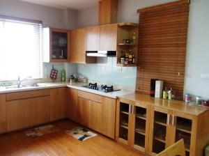 3ベッドルーム(135㎡)のキッチンスペース