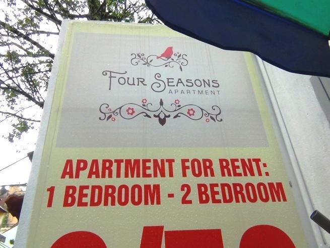 2011年建築の築浅サービスアパート「Four Seasons Apartment」