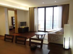 リビング横のサービスルームが特徴のINDOCHINAの3ベッドルーム