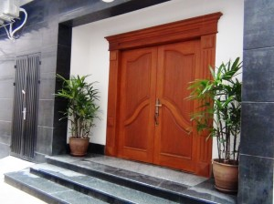 Tran Suites(Kim Ma)の入り口玄関