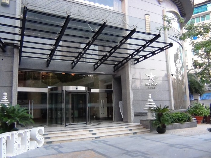 CANDEO HOTELS 正面玄関
