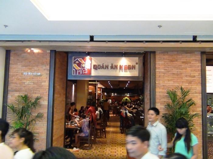 有名なベトナム料理屋さん「Quan An Ngon」がありますね。これは嬉しい!