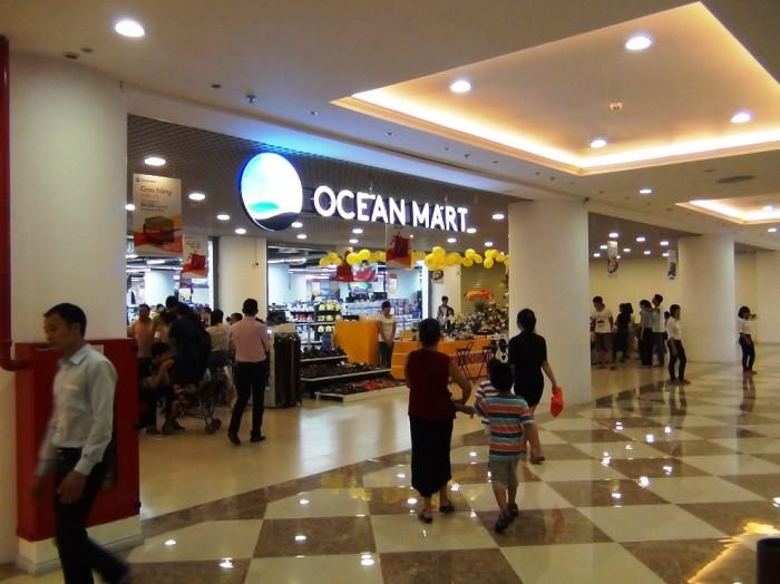 OCEAN MART(スーパー)も中に入っています