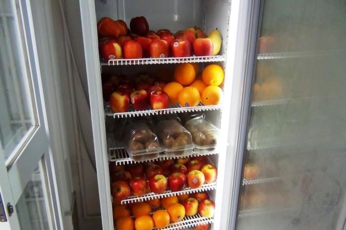 安心な果物も手に入ります