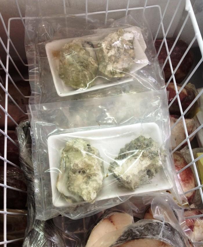 カナダ産の牡蠣「産地での冷凍保存技術はカナダに頼るところですのでご安心下さい」