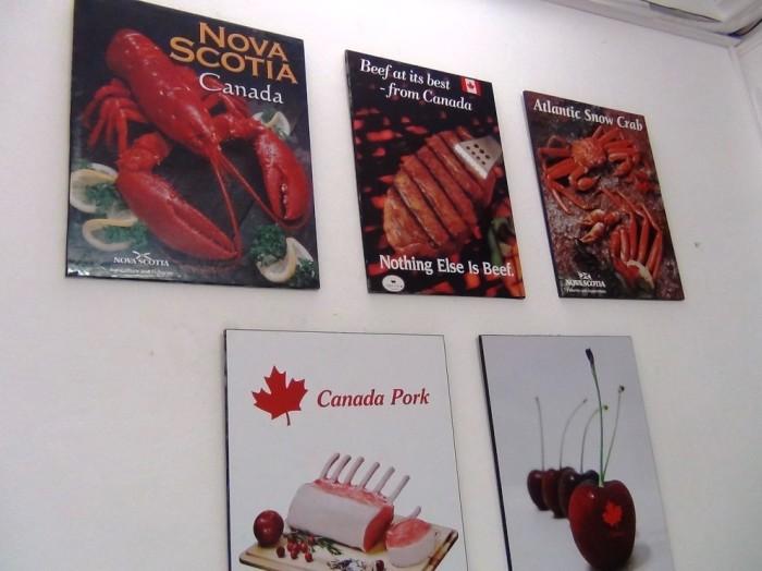 「シーフードからお肉から果物まで」新鮮なカナダ産が手に入ります