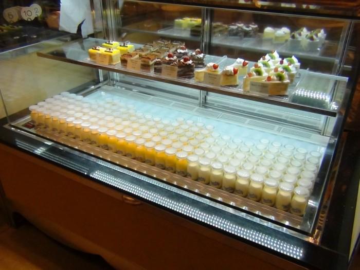 一押しの「Royal Pudding」。カラメル味がおすすめです!