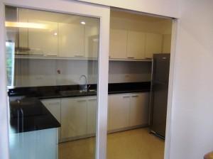 2ベッドルームのキッチンスペース