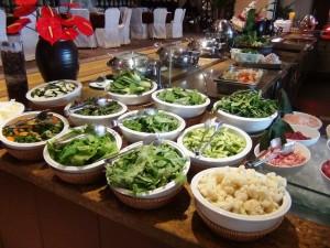 野菜炒めはお好きなものを選らんでもらえれば調理してくれます