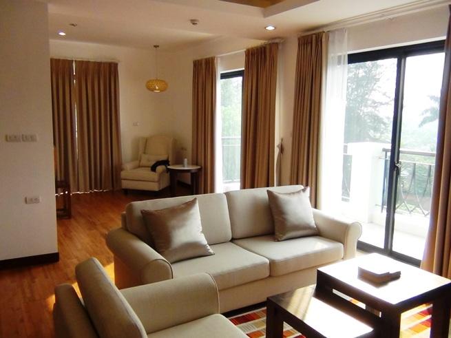 2ベッドルーム(134㎡)のリビングソファーセット