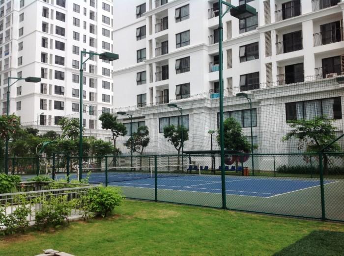 クレーのテニスコート