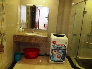 1ベッドルームの洗面スペース