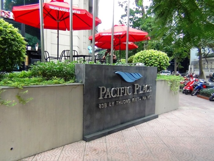 Pacific Placeはオフィス棟とアパートメント棟が混在した複合施設です
