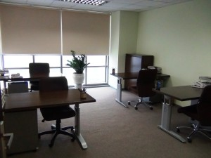 いろんな大きさのオフィススペースがあります