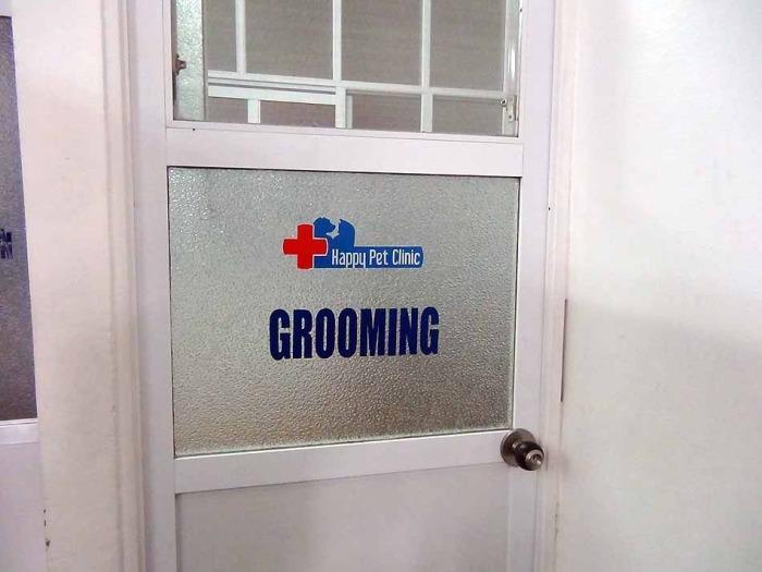綺麗洗ったり毛を整えてくれたりする施設も充実しています