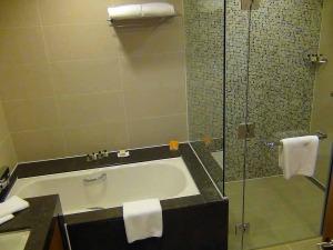 バスタブとシャワーブースは分かれています(全室共通仕様)
