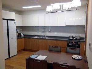 2BedAタイプのキッチン