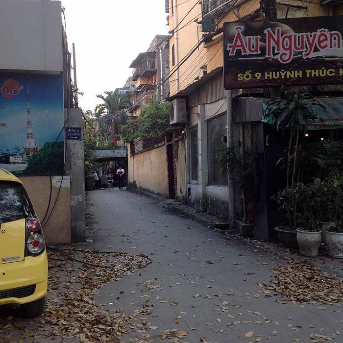 Huynh Thuc Khang通りにあるこの風景を探してください