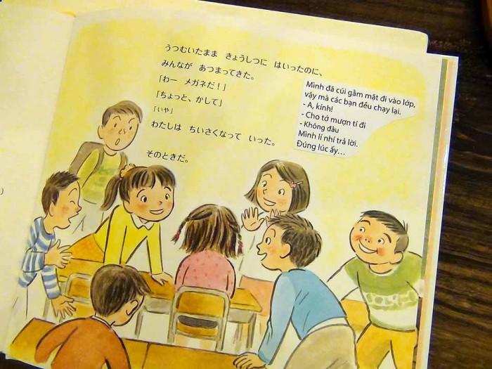 ベトナム語の翻訳も手作りです