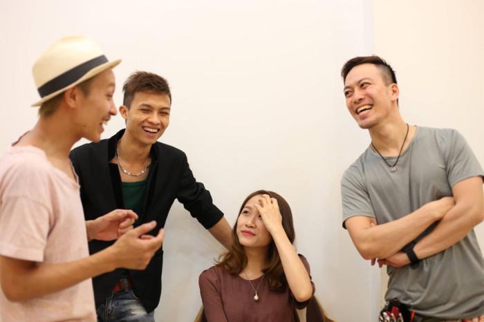 2人の日本人スタッフと可愛いベトナム人スタッフで皆さんのリクエストにしっかり応えてくれます!