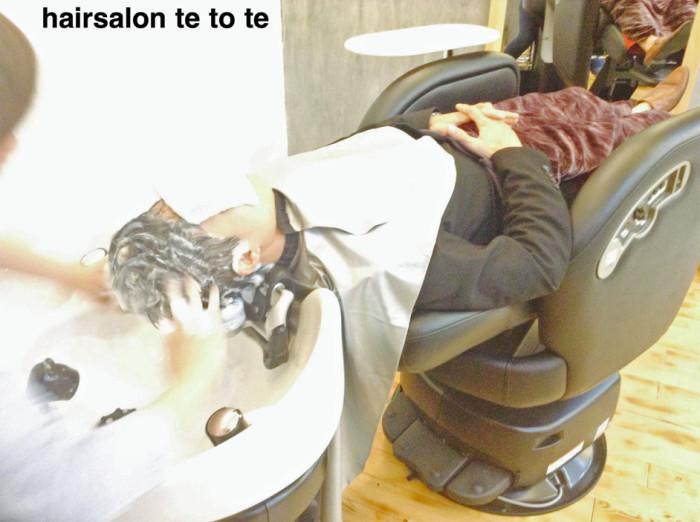 ハノイ中探しても見つからない「電動美容室椅子」であらゆる角度を実現できます