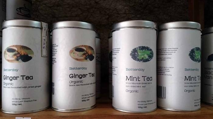 オーガニックの紅茶も置いています