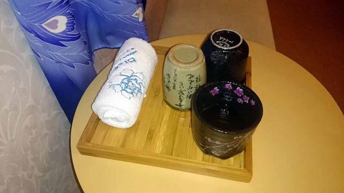 施術が終わった後も冷たい飲み物は取らず、お茶で体を温めるのがポイント